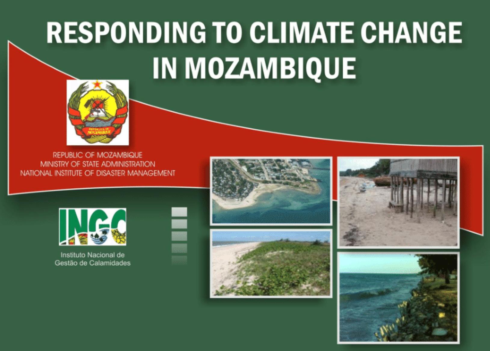 Respondendo às Mudanças Climáticas em Moçambique: Relatório de Síntese. Maputo INGC