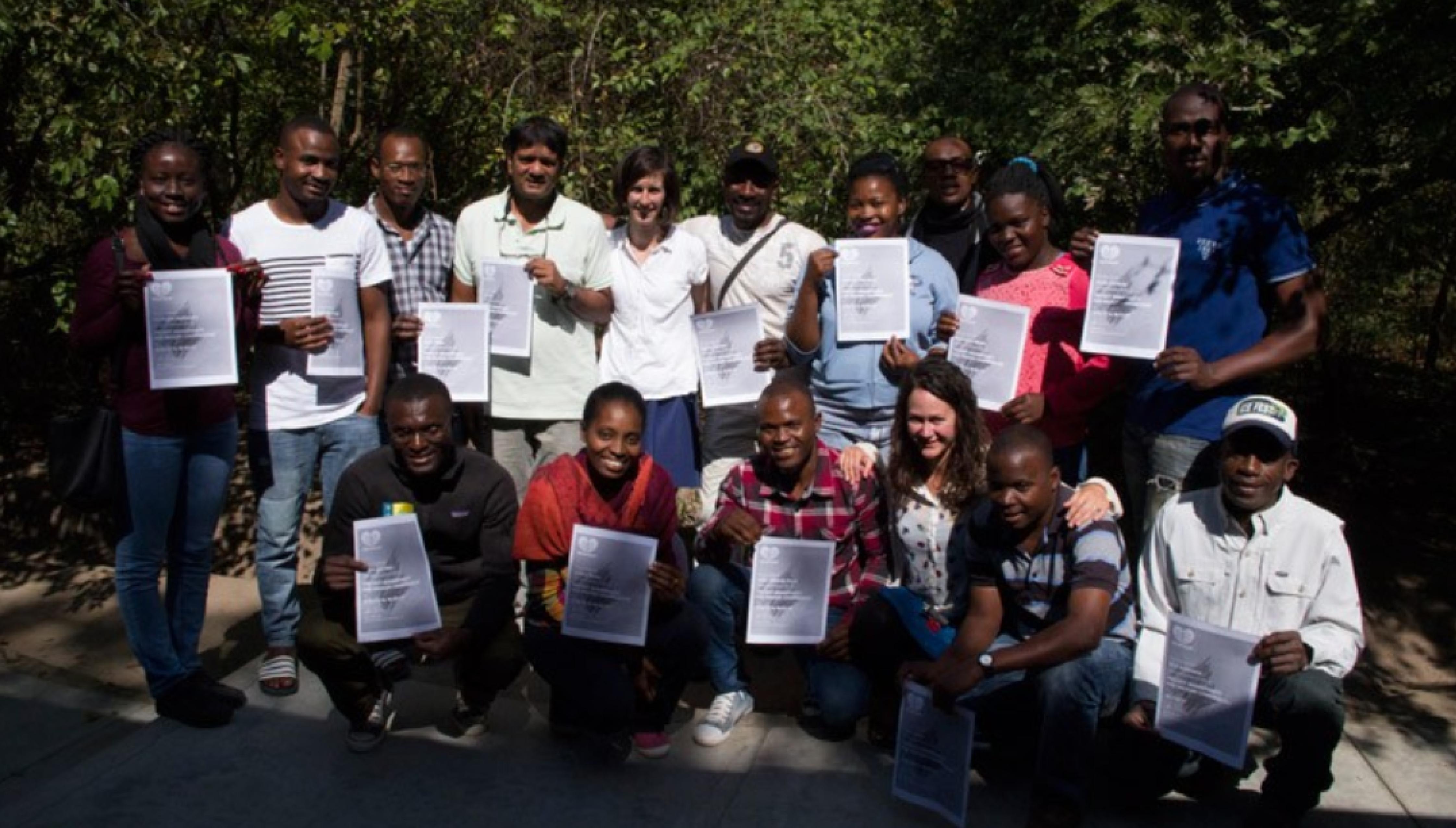 A Verde Azul participou numa Formação em Gestão de Projectos para a Conservação da Biodiversidade